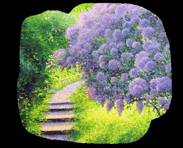 Sentier des lilas