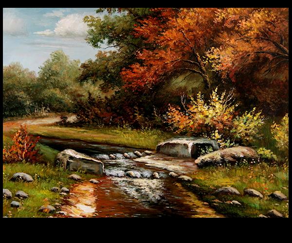 Eau fraîche - automne