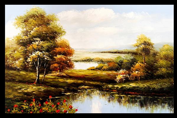 Etang - automne