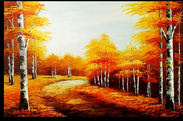 Sous bois - automne