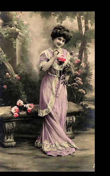 Femme vintage 064