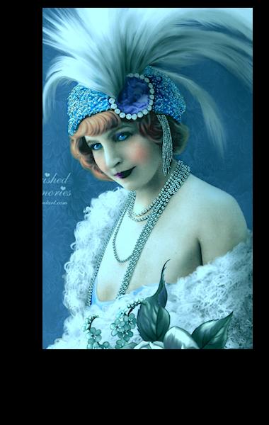Femme vintage 001