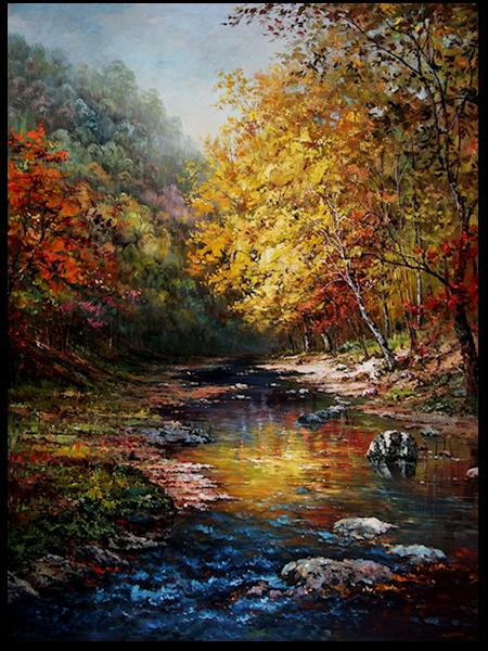 Ruisseau 3 - automne