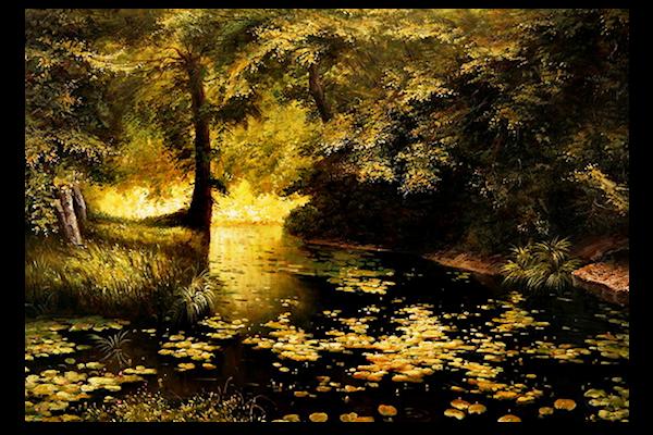 Courbe - ruisseau
